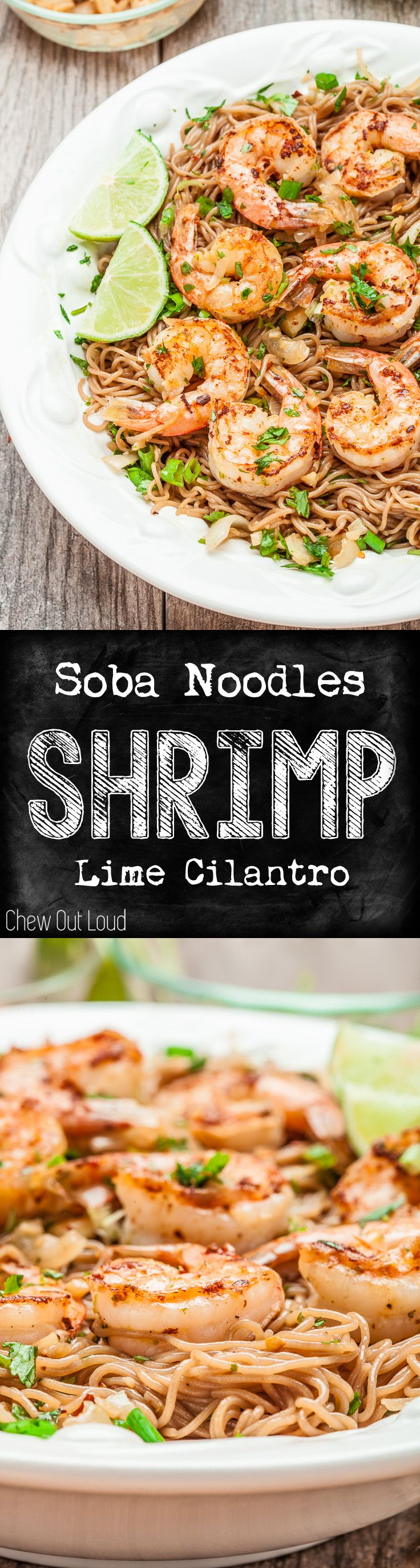 Scrumptious and easy. Healthy, flavorful, and perfect for spring/summer. #asian #noodle #recipe