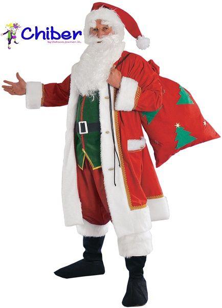 Disfraz de Papá Noel con Saco: Aunque Estados Unidos es el país de la Navidad por excelencia, la realidad es que hasta que los emigrantes holandeses llegados de Europa no pisaron el país en 1621, la figura de Santa Claus era totalmente desconocida para ellos. https://www.disfraceschiber.es/688-disfraz-papa-noel-con-saco-0637913566165.html
