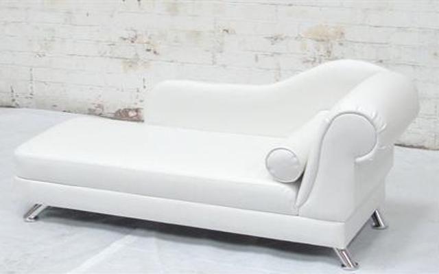 Amazing Of White Leather Chaise Lounge Wonderful White Leather Chaise Lounge Corinthia Chaise Lounge Dengan Gambar