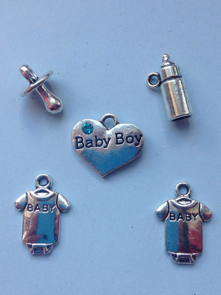 A personal favourite from my Etsy shop https://www.etsy.com/uk/listing/280495924/its-a-boy-antique-silver-plated-baby Baby charms, baby shower gifts, unique charms, DIY jewellery, #babyshower #its a boy #charms #baby