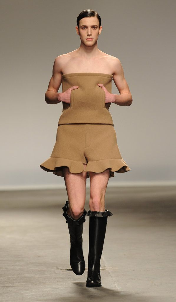 Crazy Fashion From the Men's Runway  Yeah, i'm so sure my husband will be wanting one of these!