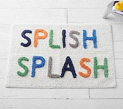 Kids' Bathroom Shower Curtains & Bath Mats | Pottery Barn Kids