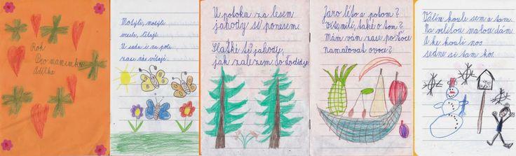 Rok - sešitek s básničkami pro maminku - 1. třída