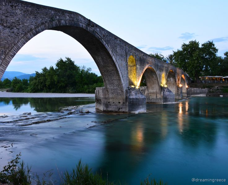 Bridge of Arta, Epirus, Greece.  Photo taken by D. Evangelopoulos. Find the ideal destination for your holidays and explore the beauties of Greece.  Plan and book your holidays in Greece. http://www.dreamingreece.com/epirus/arta-0  #arta #epirus #dreamingreece #travelguide #travel #greece