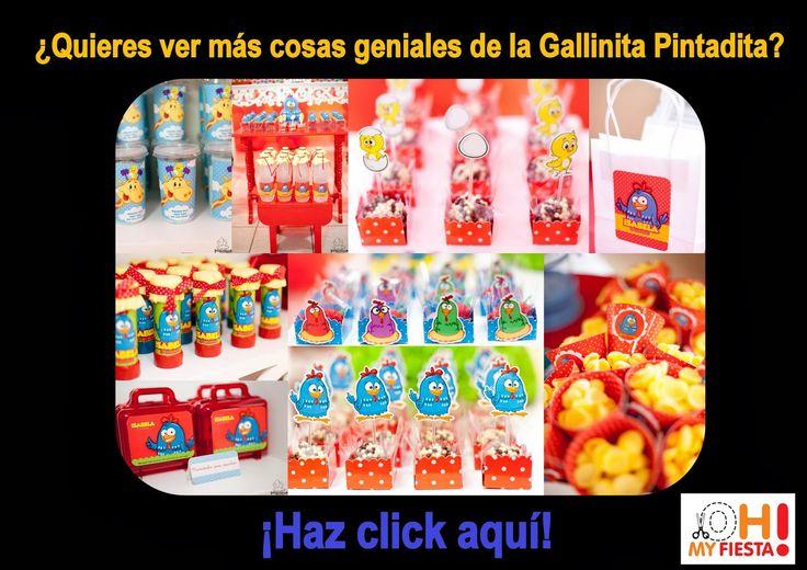 Invitaciones de Gallinita Pintadita para Imprimir Gratis. | Ideas y material gratis para fiestas y celebraciones Oh My Fiesta!