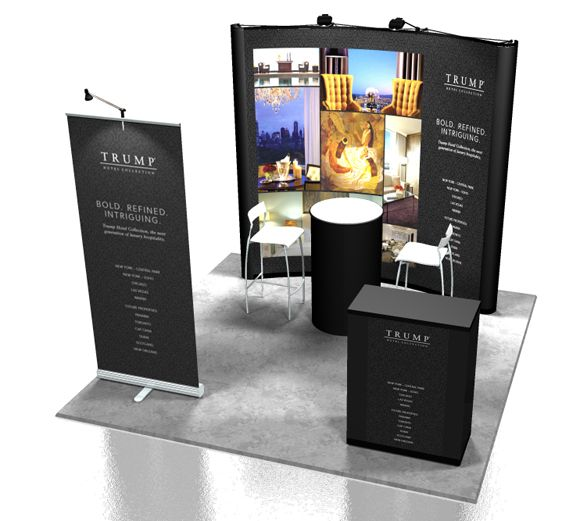 Exhibition Booth Banner : Contact a skygem sales representative for more information