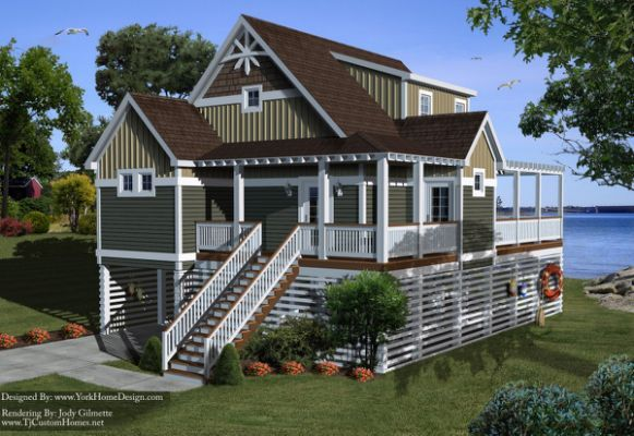 Remarkable Beach House Plans On
