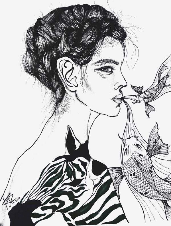 outcast by Kitz B., via Behance