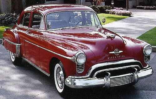 1950 Oldsmobile 88 Deluxe. Maintenance/restoration of old/vintage vehicles: the material for new cogs/casters/gears/pads could be cast polyamide which I (Cast polyamide) can produce. My contact: tatjana.alic@windowslive.com