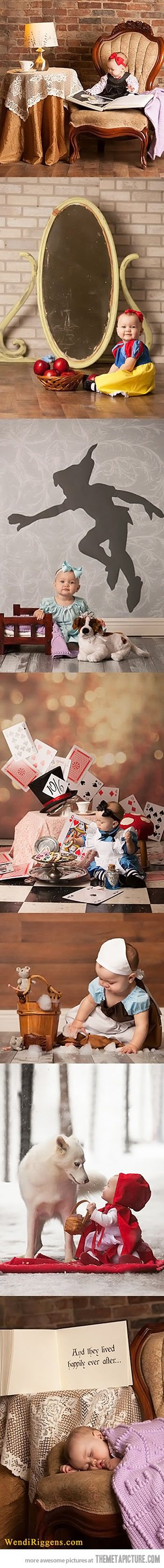 Cutest baby fairy tale pics! <3