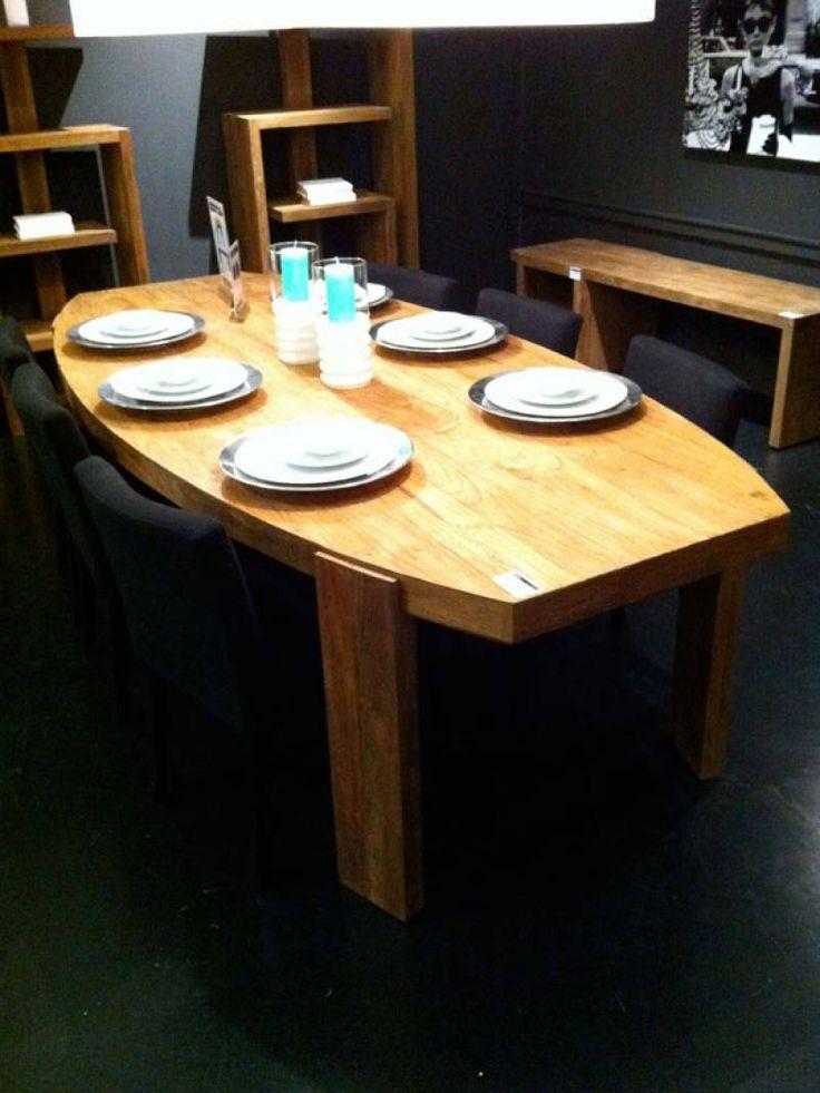 Ovale tafel, mooie vorm