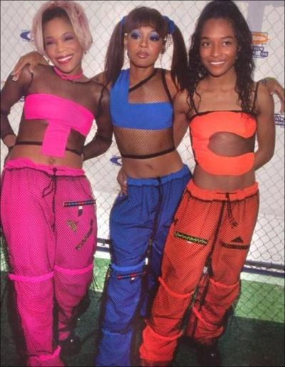 T-Boz, Left Eye and Chilli had it going on