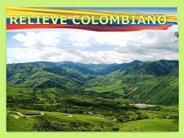 Resultado de imagen para mapa del relieve de colombia