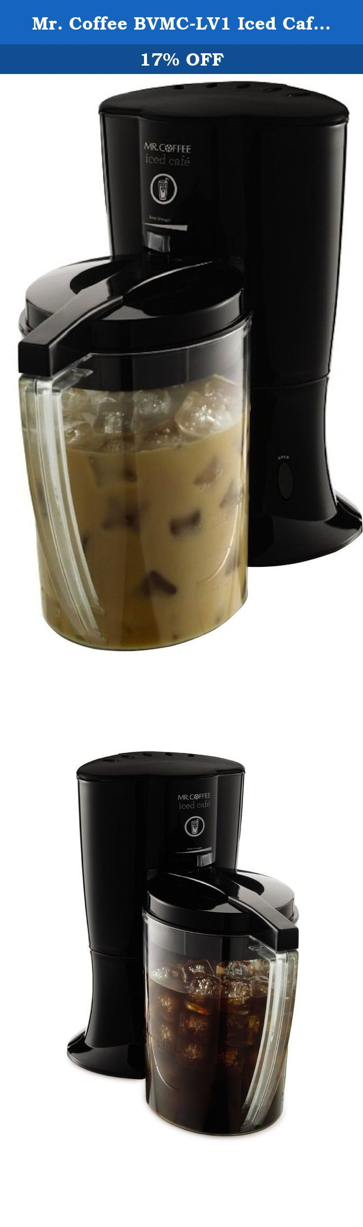 Mr. Coffee BVMCLV1 Iced Cafe Iced Coffee Maker, Black. Mr