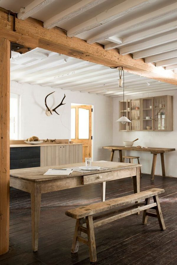 A BEAUTIFUL MODERN RUSTIC COUNTRY KITCHEN