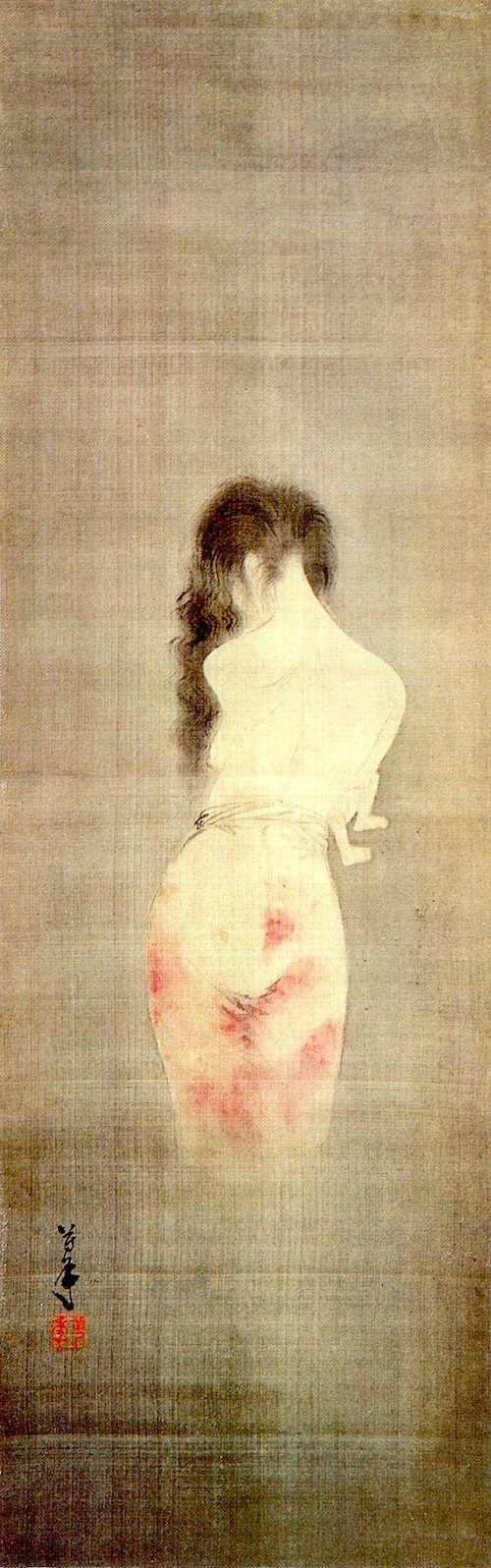 月岡芳年の幽霊画