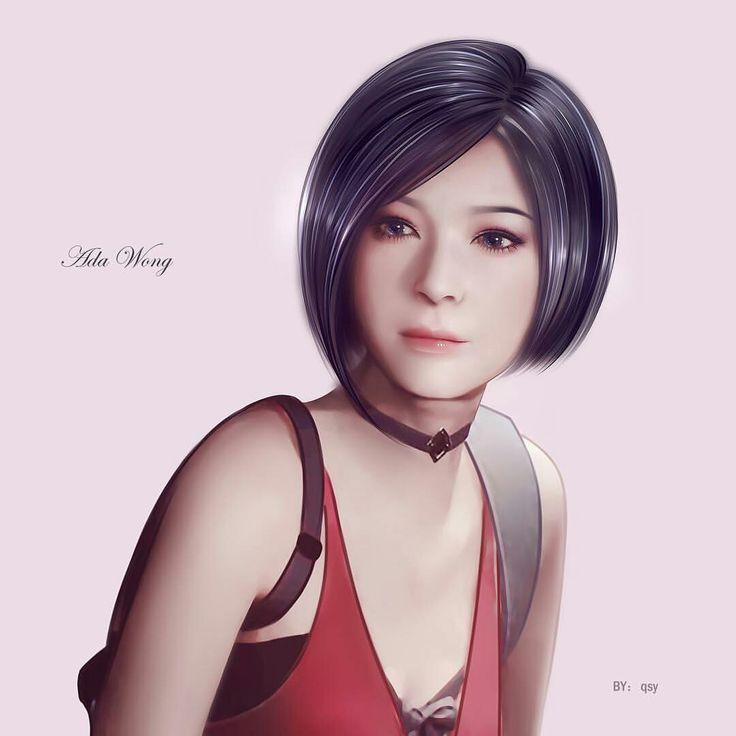Pin de 水色 em Ada Wong Re2 Rm | Personagens de videogame
