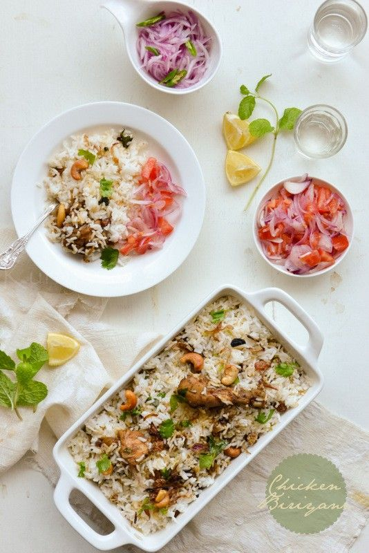 Chicken Biriyani   Spicy Kerala Chicken Biriyani. Prep Time: 20 minutes Cook time: 90 minutes Serves:...