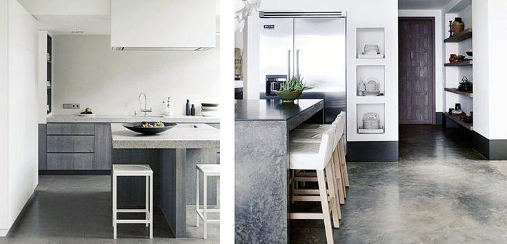 mesas de concreto para cocina - Buscar con Google