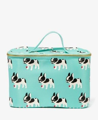 French Bulldog Cosmetic Bag {$9.80 Forever 21}