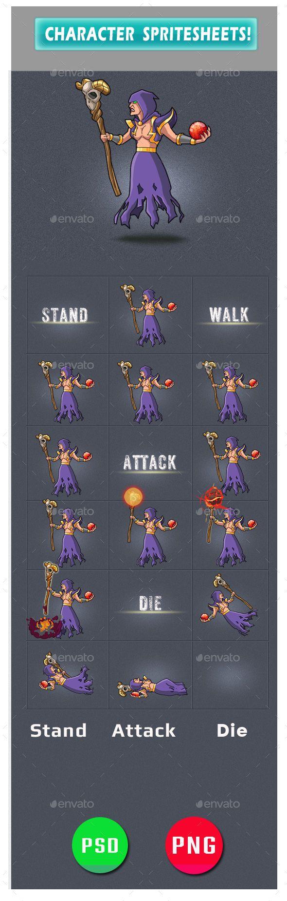 #Enemy Game Assets - Sprites #Game #Assets Download here:      https://graphicriver.net/item/enemy-game-assets/20434995?ref=alena994