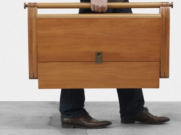 Pippa Folding Desk By Rena Dumas ~ Modernistic Design
