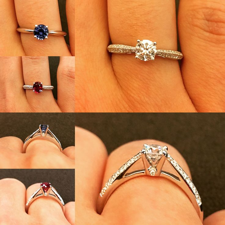 Are you looking for a ring to propose to your loved one? Diamond? Ruby? Or sapphire? With or without diamond pavage ? We have what you're looking for! Don't miss the little diamond on each sides of the bezel ~  #waskoll #2017 #proposal #engagementring #diamond #ruby #sapphire #ring #gold #love #marriage