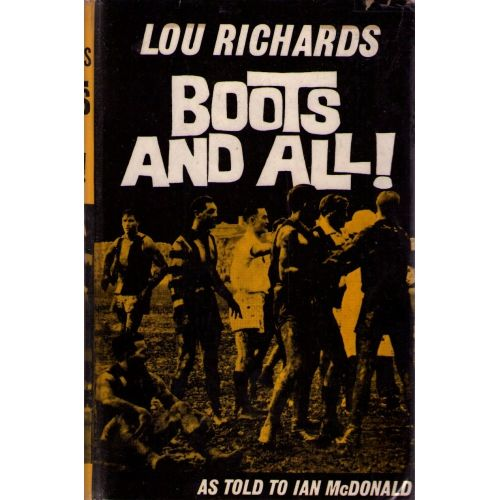 Boots & All by Lou Richards SIGNED AFL Signed