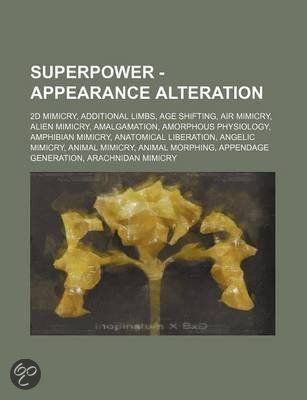 Superpower - Appearance Alteration