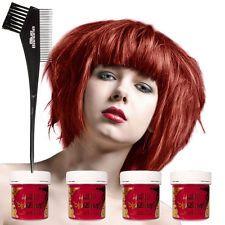 La Riche Directions Haartönung Poppy Red Auswaschbare Haarfarbe Tönung 4er Pack