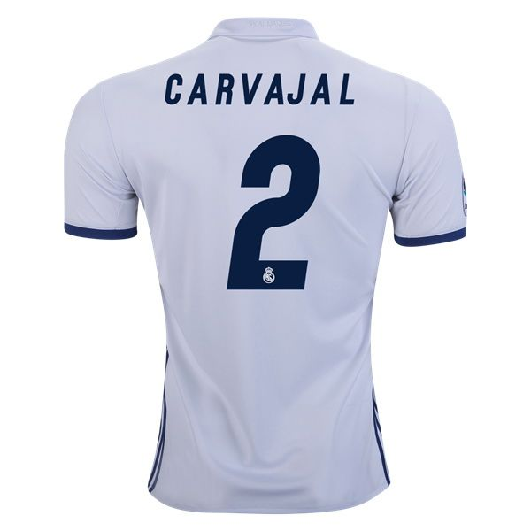 2016 Dani Carvajal Jersey Number 2 Home Men S Authentic Real Madrid Team Cristiano Ronaldo Jersey Real Madrid Soccer Jersey