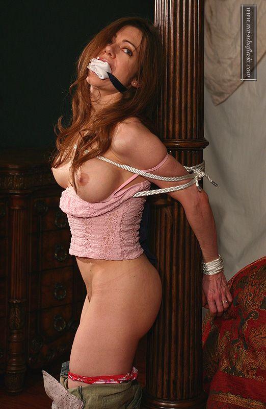 Natasha Flade  Gag Cleave  Bonds Rope  Best When -5860