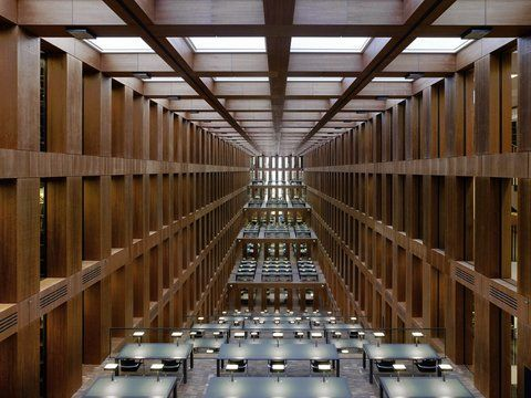 Material Design > Max Dudler. Biografia e opere .- berlin library interior