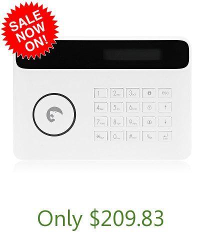 eTIGER S4 - CV GSM PSTN Home Security Alarm System