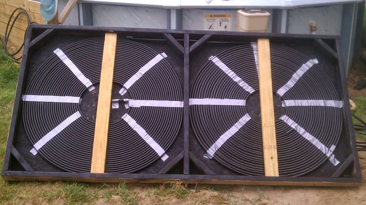 How to Build Your Own Solar Pool Heater and Add a Diverter ~ Simple Suburban Living