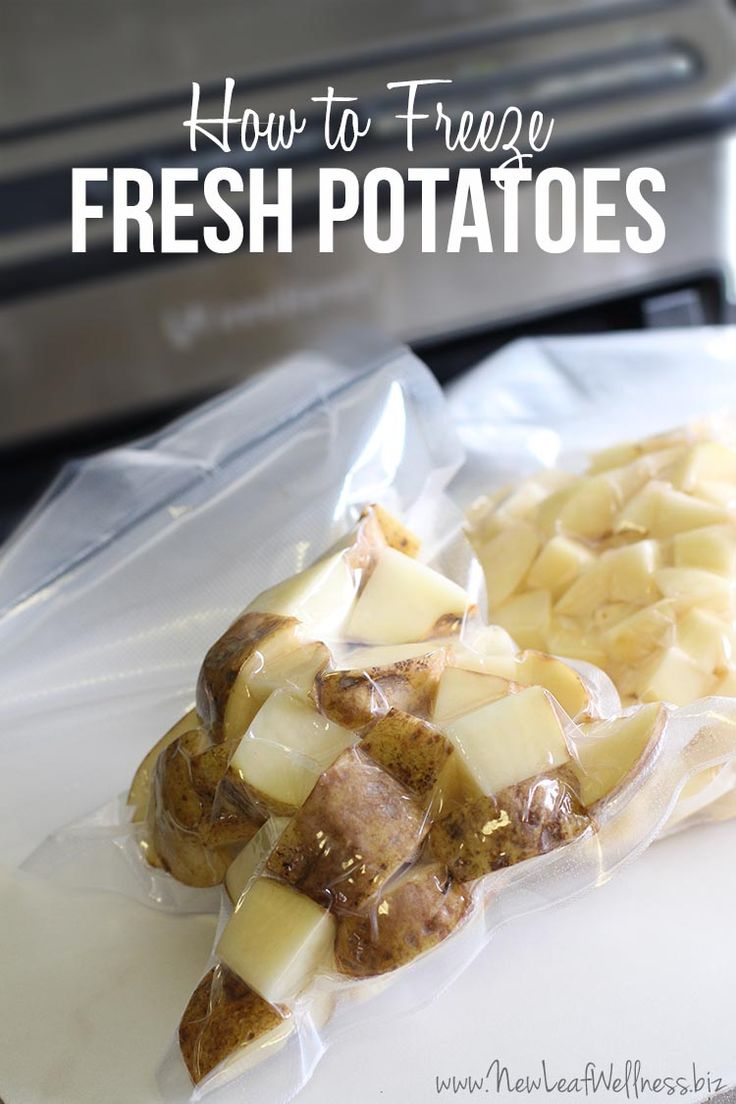 How to Freeze Fresh Potatoes Without Turning Them Black