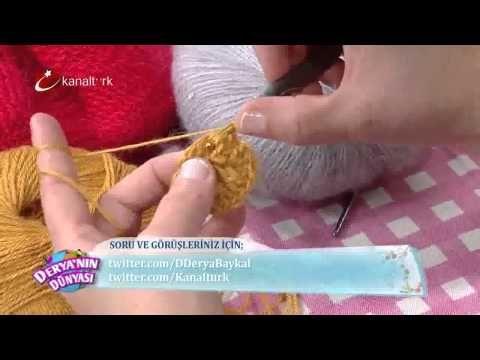 Çok şık bere örme - Derya Baykal - Derya'nın Dünyası - 19 Aralık 2014 - YouTube