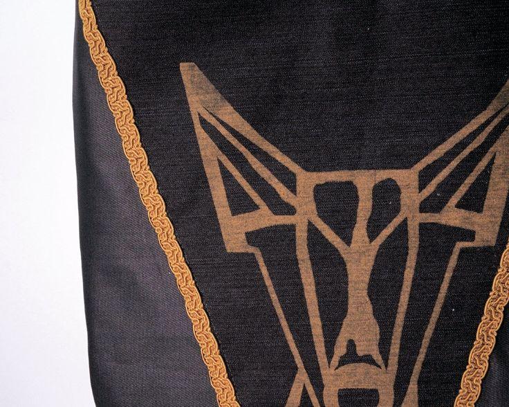 Podengo Schoulder bag named Renco // Shopper // Schouder Tas// Cross body Bags // Handbag // Podenco// Hobo Bag // Silkscreen // Mr Podenco door MrPodenco op Etsy