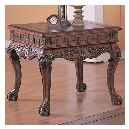 Wilshire Traditional Square End Table by Coaster