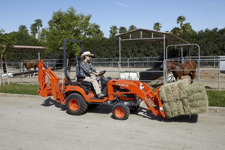 Kubota Introduces BX70 Series Sub-Compact Tractors