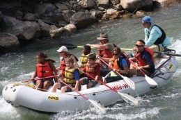 Whitewater river rafting in Colorado!