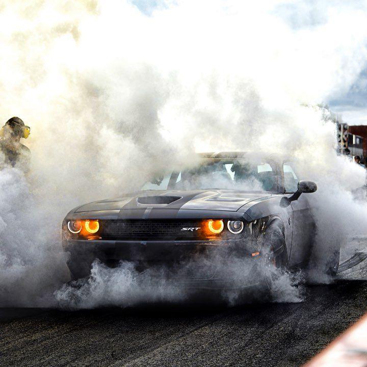 Dodge On Instagram We Love Burnouts Dodge Muscle Cars Dodge Challenger Mopar Cars Best of iphone car burnout wallpaper