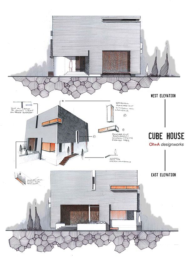 Best Architectural Drawings Images On Pinterest Drawings