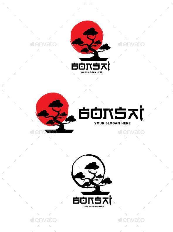 Bonsai Logo Objects Logo Templates Bonsai Logo Objects Templates