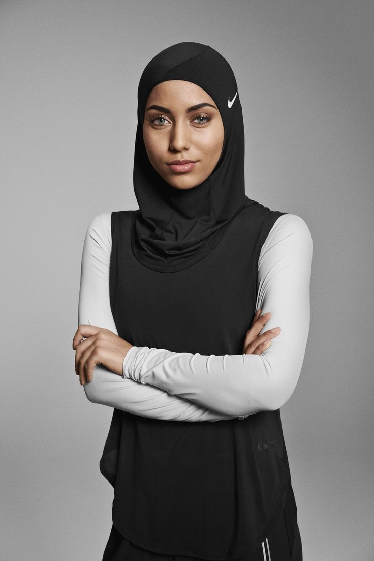 Love Nike's hijab collection.