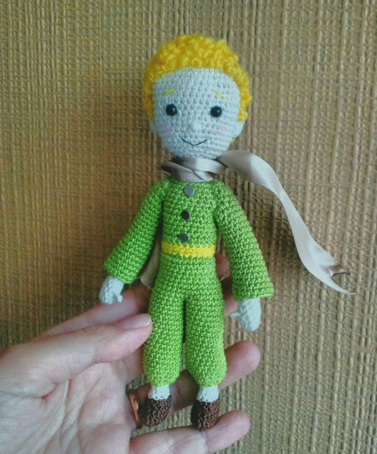 the Little prince. Amigurumi doll