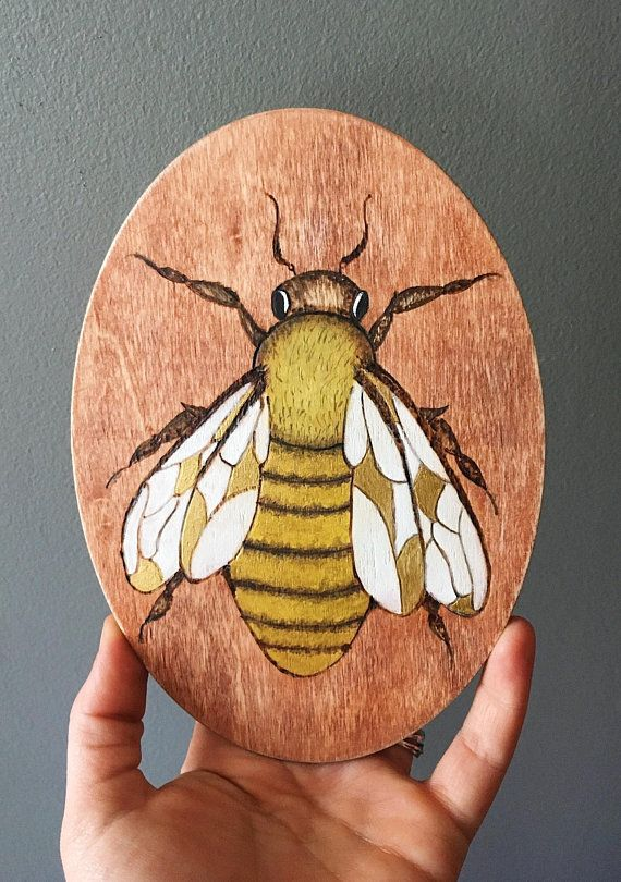 Bring A Little Touch Of Springtime And Sunshine In To Your Home With This Honey Bee Wall Decor Each Piece Is Handmade So Appearance May Vary Slightly