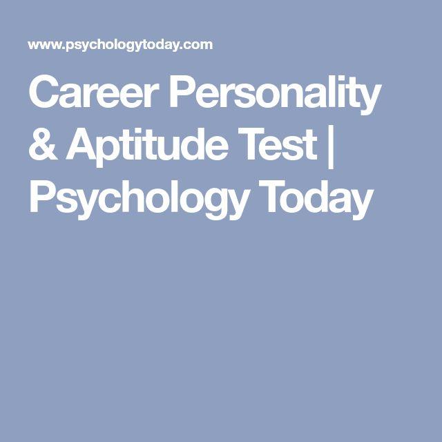Best 25+ Career personality test ideas on Pinterest Mbti type - career aptitude test