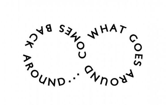 possible tattoo - not the saying necessarily but words to make a symbol....