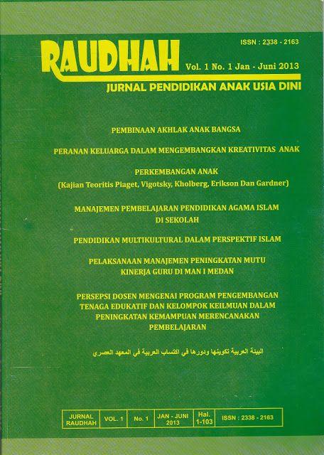 Jurnal Pendidikan Anak Usia Dini PGRA | Dr. Mardianto M.Pd